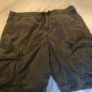 True Religion men's cargo shorts